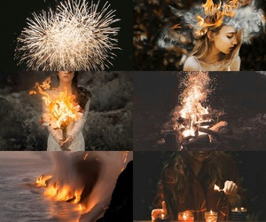 fantasy, fire, and magic image