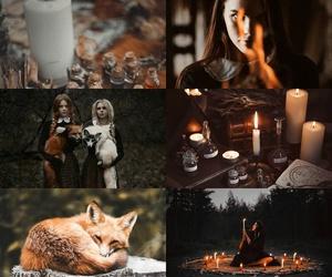 fox, girl, and aesthetic image