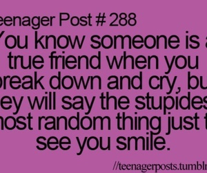 teenager post, friends, and quote image
