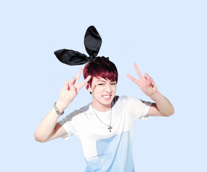 blue, bunny, and kpop image