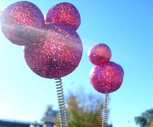 disney, glitter, and pink image