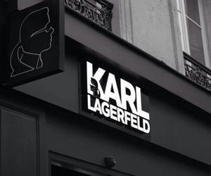 karl lagerfeld, fashion, and black image