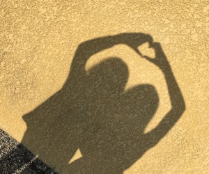 bff, heart, and shadows image
