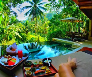 summer, luxury, and relax image