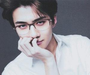 era, exo, and glasses image