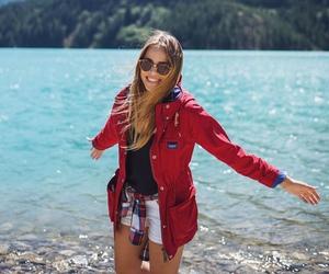 fashion, nature, and lake image