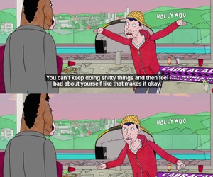 bojack horseman, quote, and tv show image