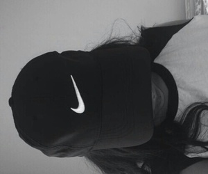 nike, tumblr, and black image