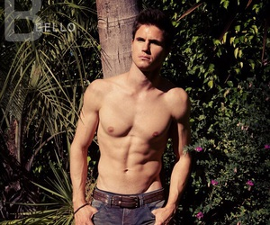 robbie amell, the duff, and boy image