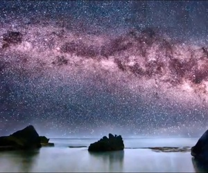 etoile, galaxy, and space image
