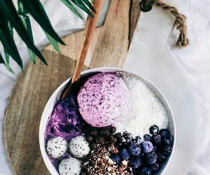 food, healthy, and ice cream image
