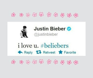 justin bieber, twitter, and beliebers image