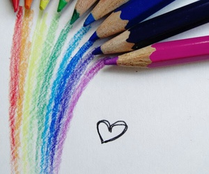 colourful, joy, and love image