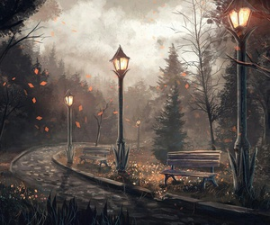 autumn and art image