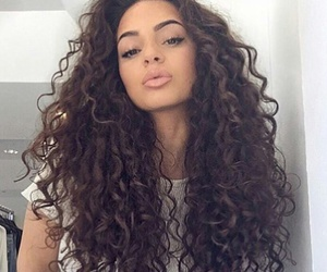 curls, beautiful, and beauty image