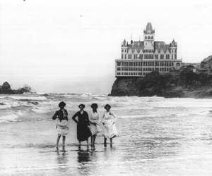 beach, san francisco, and cliff house image