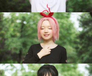 cosplay, sakura, and sasuke image