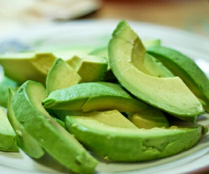 food, avocado, and fruit image