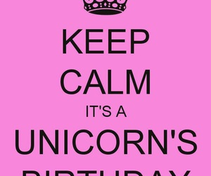 birthday, unicorn, and wallpaper image