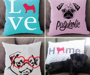 pug, puppy, and animals image