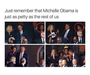 funny and michelle obama image