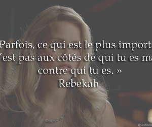 rebekah mickelson, série, and the originels image