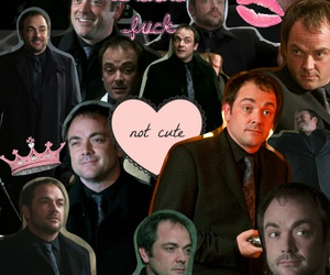 background, crowley, and supernatural image