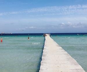 beach, mallorca, and sea image