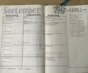 college, organised, and planner image