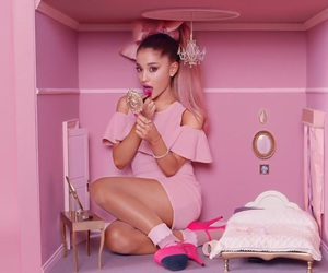 baby pink, singer, and viva glam image