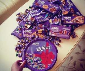 chocolate, milka, and food image