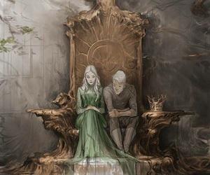 rowan, celaena, and celaena sardothien image