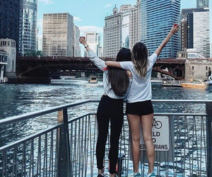 bffs, friends, and city image