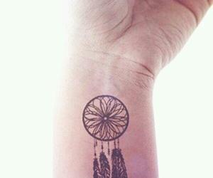 tattoo and dream catcher image