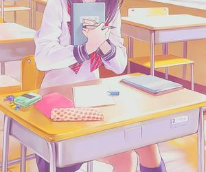 anime, school, and manga image