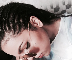 braids, grey, and bronze image