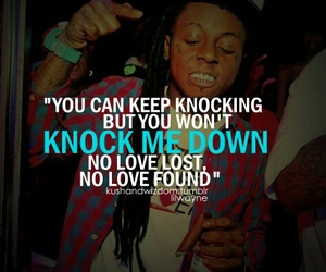 lil wayne, no love, and quote image