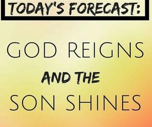 god, good, and sun image