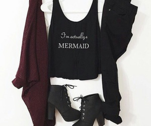 chic, ootd, and cute image