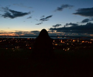 grunge, photography, and sky image