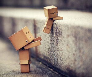 box, help, and danbo image