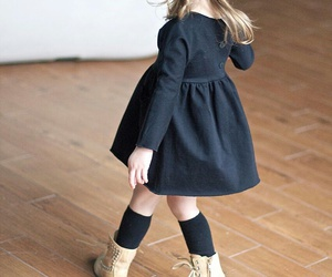 girl, kids, and fashion image
