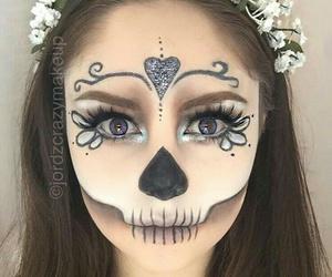 Halloween, pretty, and makeup image