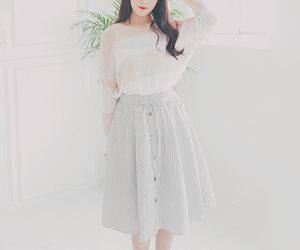 korean and pastel image