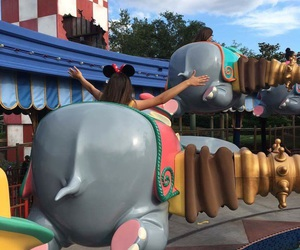 disney, dreams, and dumbo image