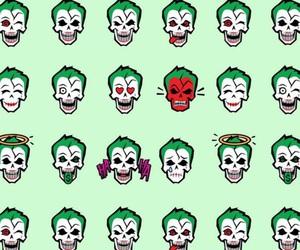 wallpaper, green, and joker image