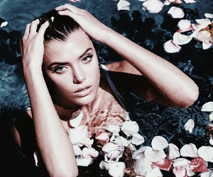alissa violet, girl, and flowers image