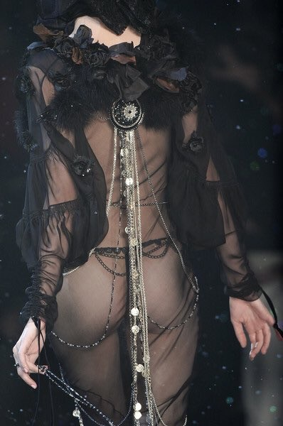 belly dance and John Galliano image