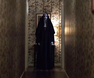 ghost, the conjuring, and horror image