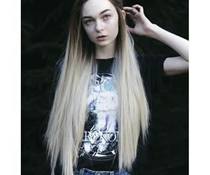 long hair, wig, and hallucineon image